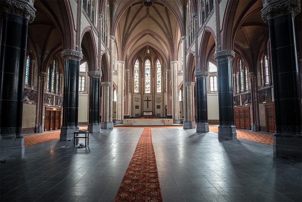 Hoge Gouwe kerk ruimte